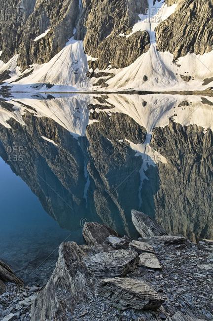 The Rockwall at Floe Lake, Kootenay National Park, British Columbia, Canada