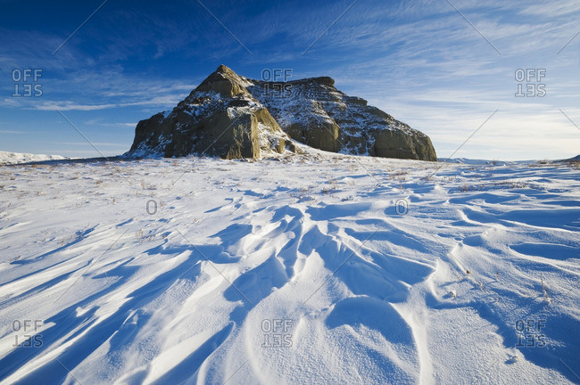 Castle Butte, Big Muddy Badlands, Saskatchewan, Canada