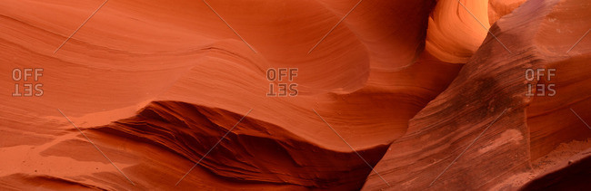 Sandstone formations in Rattlesnake Canyon.