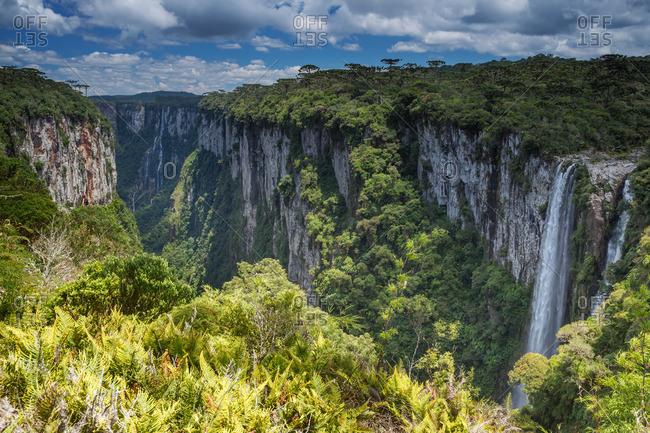 Itaimbezinho Canyon in Cambara do Sul, Rio Grande do Sul, Brazil.