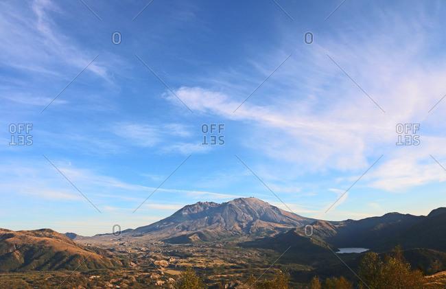 Mount Saint Helens National Volcanic Monument in Washington, USA.