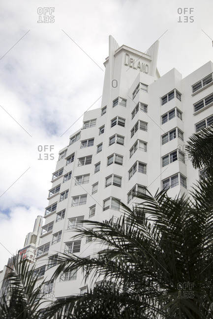 Miami Beach, Florida - December 2, 2012: The Delano Hotel in Miami Beach, Florida