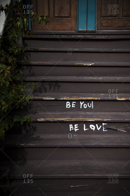 """Steps with """"Be You ! Be Love"""" in San Francisco, California"""