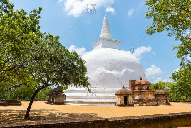 Polonnaruwa ancient ruins, Polonnaruwa, Sri Lanka