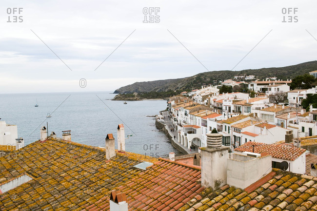 Town of Cadaques in Spain