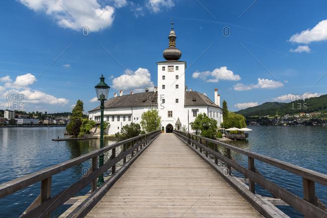 Schloss Ort castle, Gmunden, Upper Austria, Austria