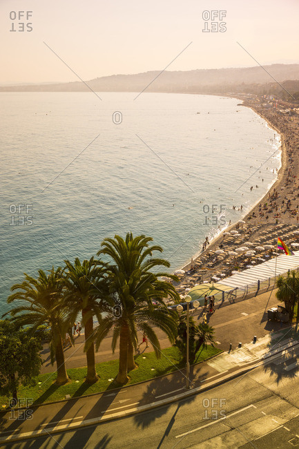 Promenade des Anglais, Nice, Alpes-Maritimes, Provence-Alpes-Cote D'Azur, French Riviera, France