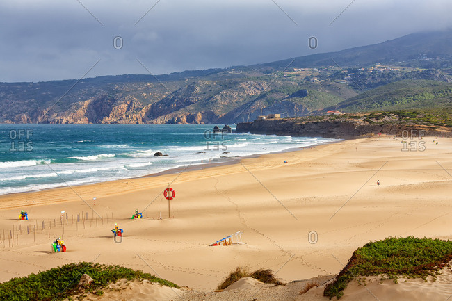 Guincho Beach In Cascais, Greater Lisbon, Portugal