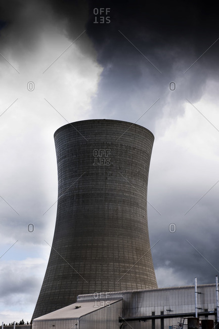Power station cooling tower