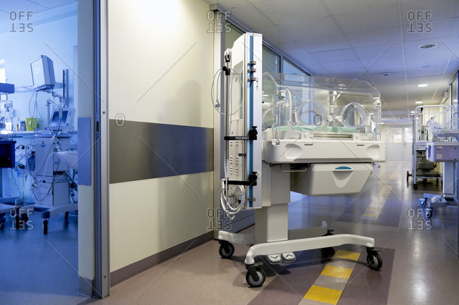 The intensive care unit, special care unit of a children's hospital in Tartu