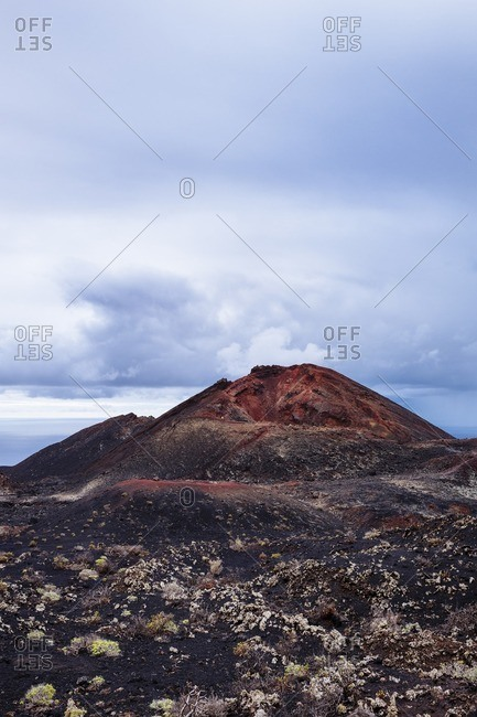 Barren peak in Canary Islands, Spain