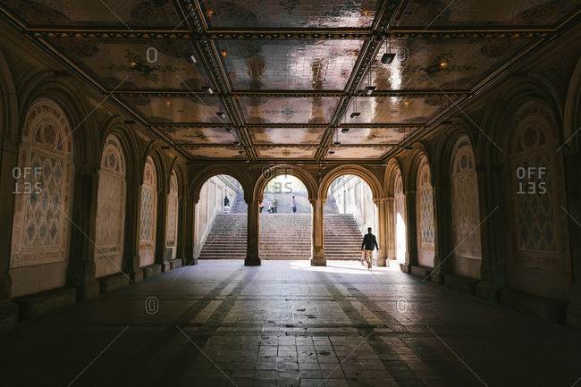 Passage of Bethesda Terrace, Central Park, NYC
