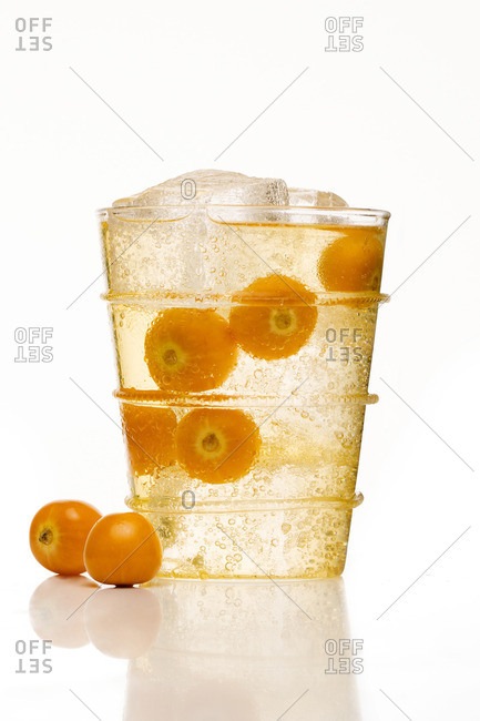 A fizzy drink with pichuberries