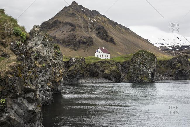 House along the harbor, Arnarstapi, Iceland