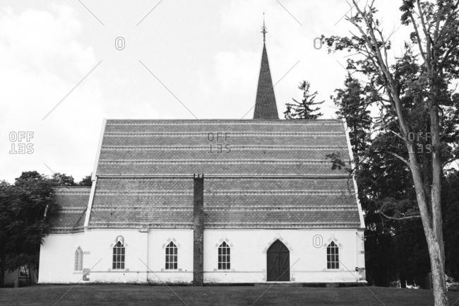 Church exterior in Millerton, New York