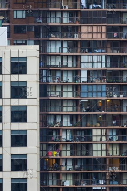 Modern city building in Sydney, Australia