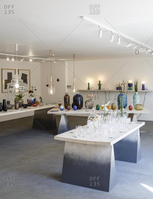 Prague, Czech Republic - May 7, 2016: Cihelna Concept Store, Prague, Czech Republic