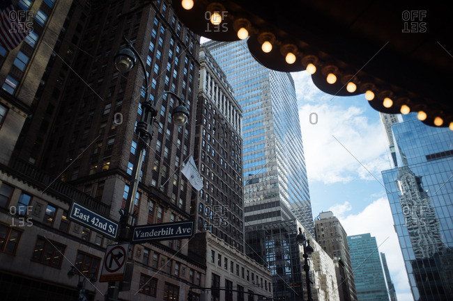 October 21, 2016 - New York: Exiting Grand Central Station to East 42nd Street