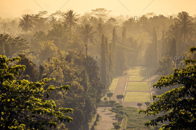 Indonesia- Java- Borobudur Temple Complex