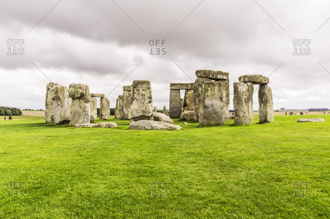 UK- England- Wiltshire- Stonehenge