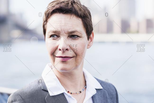 Portrait of confident businesswoman - Offset