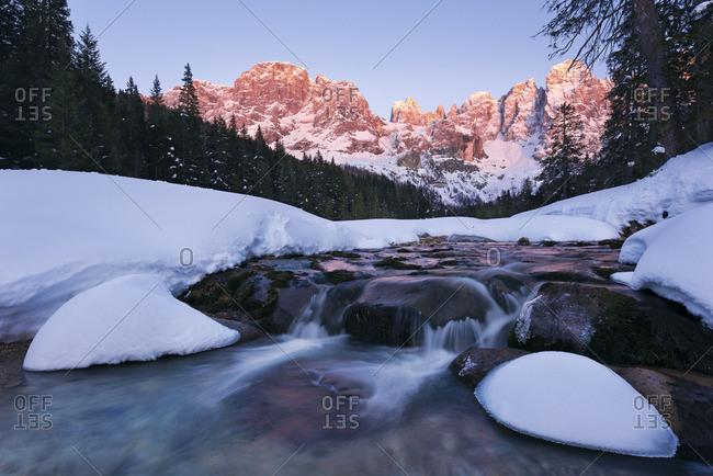 Pala group, Dolomites, Italy