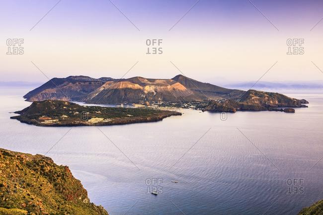 An island in the Aeolian Islands, Italy