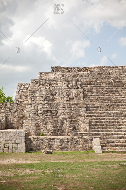 Mayan ruins of Dzibilchaltun in Yucatan, Mexico