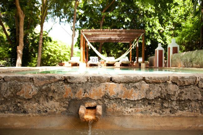 Swimming pool in Yucatan, Mexico