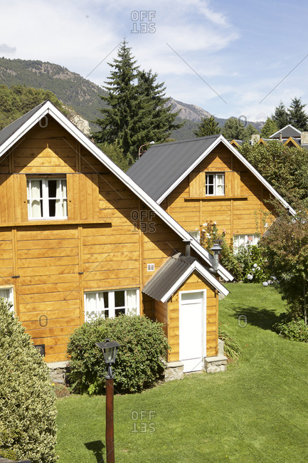 Mountain cabin hotel in Argentina