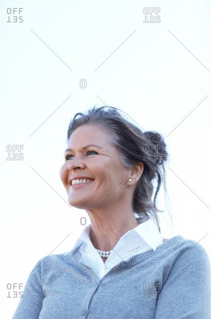 Portrait of mature