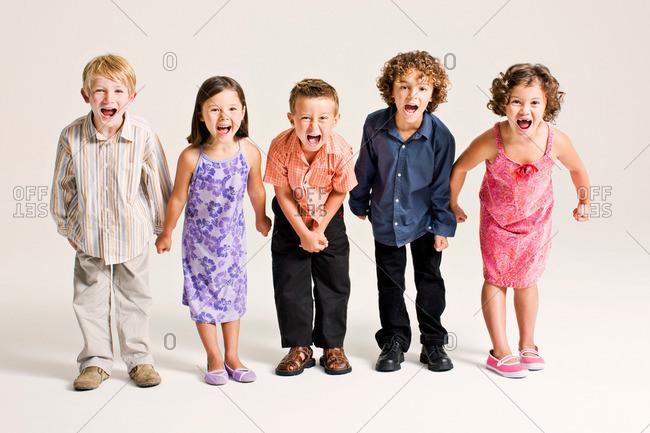 kids shouting