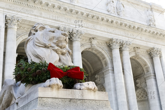 New York Public Library, Christmastime