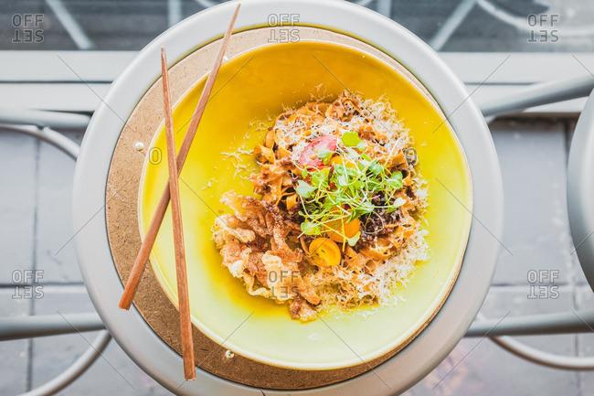 Ragu style dish at baroo