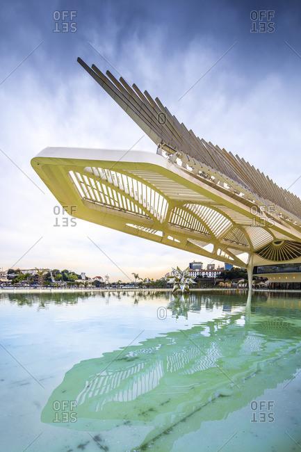 Rio de Janeiro, Rio de Janeiro, Brazil - December 22, 2016: Museum do Amanha (Museum of Tomorrow) by Santiago Calatrava