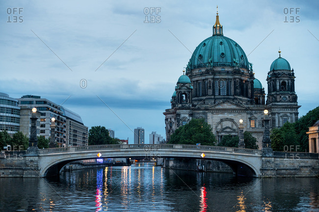 Berlin Cathedral on the River Spree