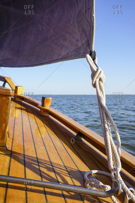 Traditional German fishing boat