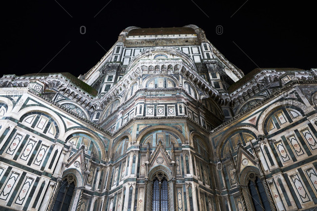 Cathedral of Florence exterior, Florence, Italy