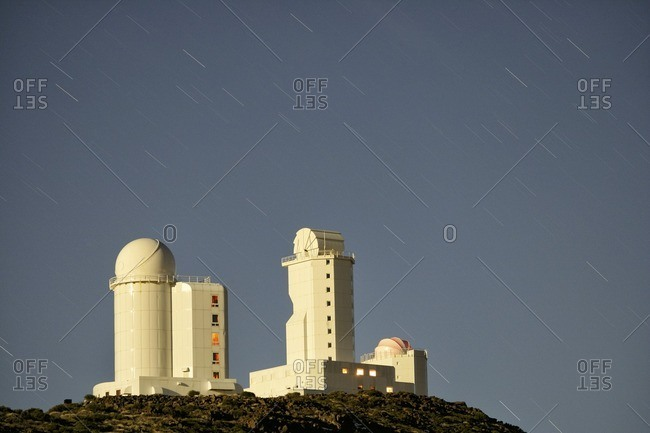 Teide observatory from the Offset Collection