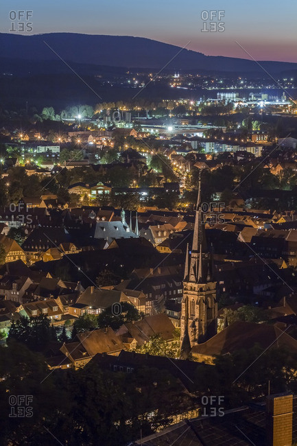Wernigerode in the evening