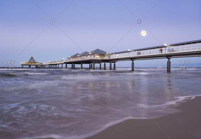 Pier in the evening