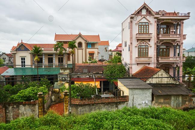 Rural Vietnamese village