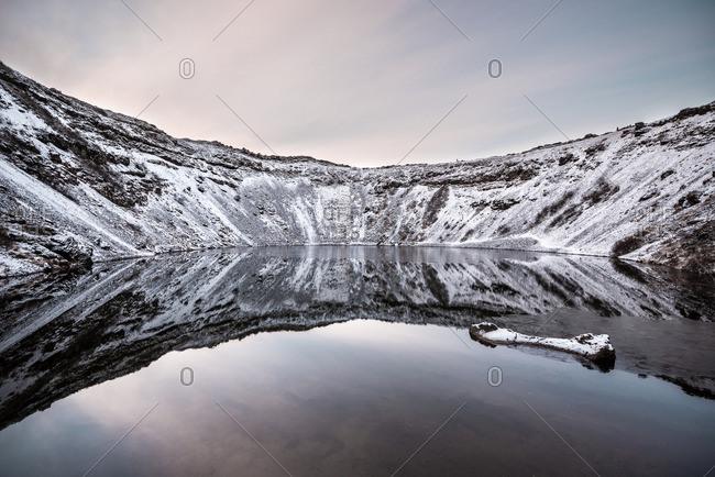 Iceland- Kerid- Volcanic crater lake