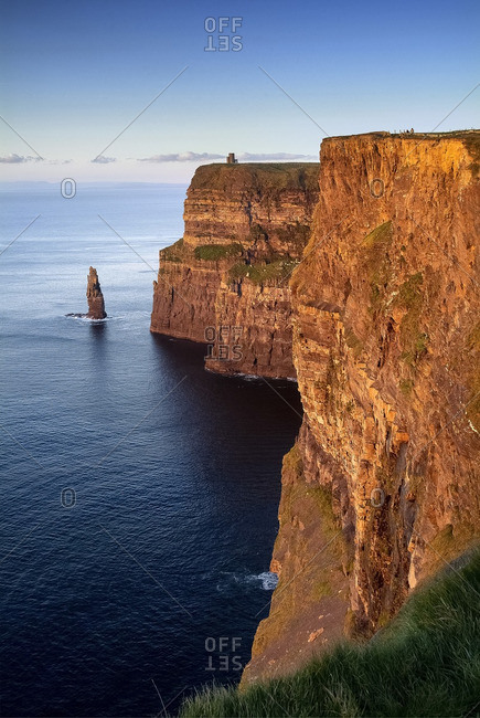 The Cliffs of Moher on the Wild Atlantic Way in Ireland's County Clare
