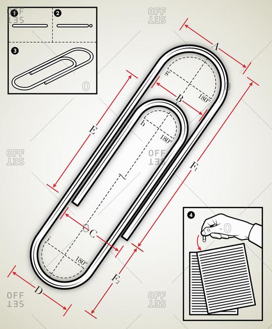 Paperclip diagram