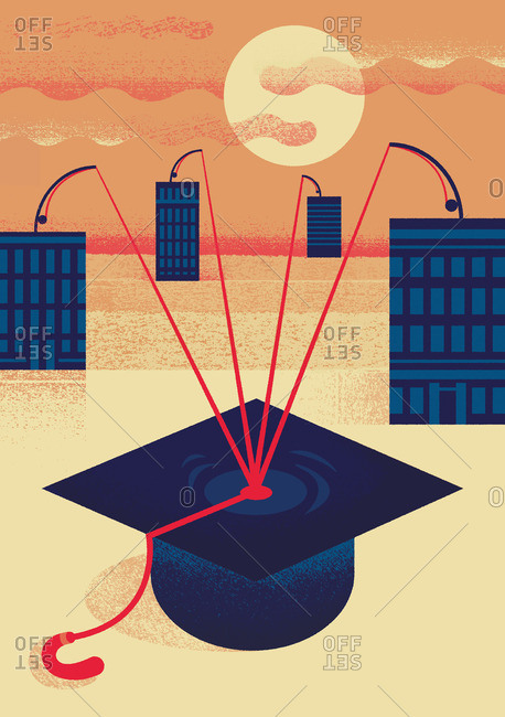 Businesses fishing for graduates - Offset