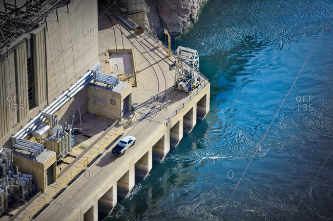 Hydroelectric dam from the Offset Collection
