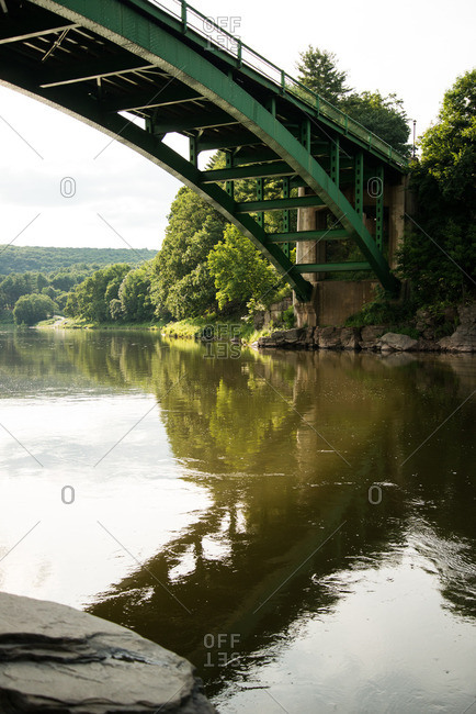 Bridge over Delaware River - Offset