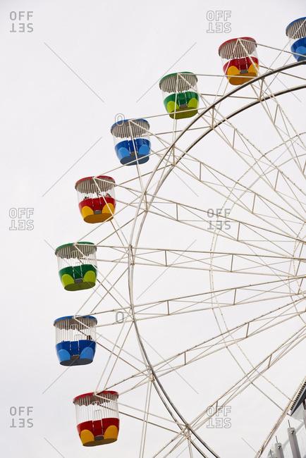 Sydney, Australia - December 11, 2015: Ferris Wheel at an amusement park, Sydney, Australia