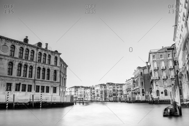 A view of Grand Canal, Venice